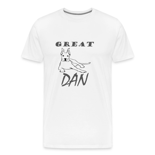 Great Dan Dog Funny Shirt For Dog Lover - Men's Premium T-Shirt