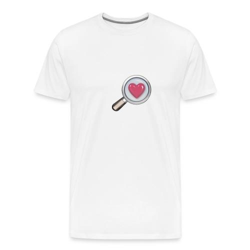 Heart magnified - Men's Premium T-Shirt