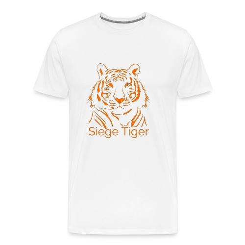 Siege Tiger Orange - Men's Premium T-Shirt