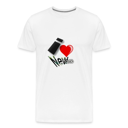 I Heart aka Love New York - Men's Premium T-Shirt