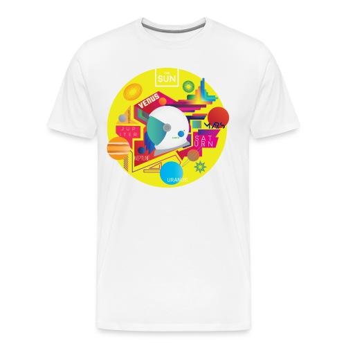 Cosmonaut DESIGN - Men's Premium T-Shirt