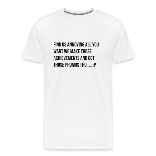 Getting Achievements - Men's Premium T-Shirt