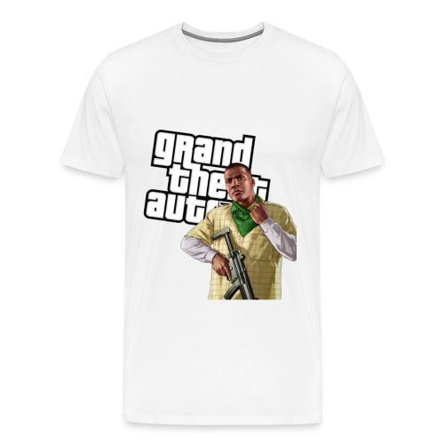 GTAV Franklin - Men's Premium T-Shirt