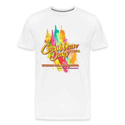 Caribbean Days Festival = Hot! Hot! Hot! - Men's Premium T-Shirt
