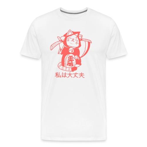 MANEKI X REAPER - Men's Premium T-Shirt