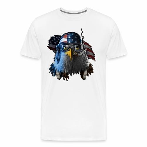 Eagle of United States - Men's Premium T-Shirt