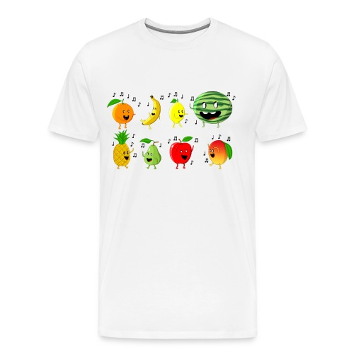Dancing Fruit Party - Men's Premium T-Shirt