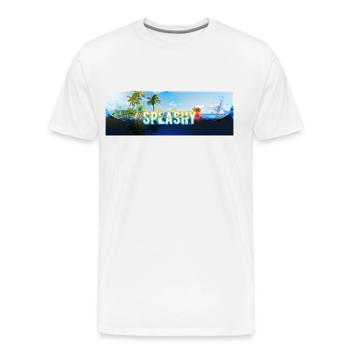 SPLASHY DROWNING OCEAN - Men's Premium T-Shirt