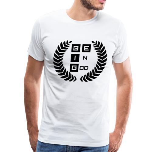 Be BIG Black BeInGod - Men's Premium T-Shirt