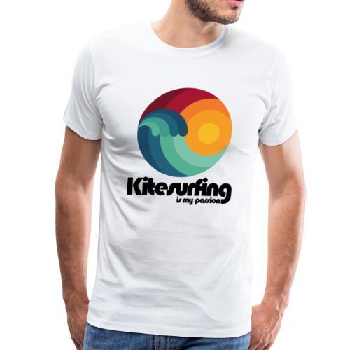 Kitesurfing is my Passion - Men's Premium T-Shirt