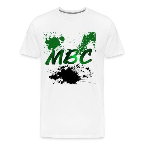 MinerBroConnor With Splatter - Men's Premium T-Shirt