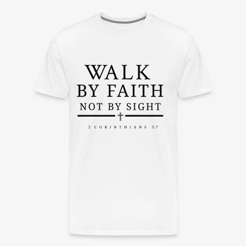 Corinthians 5:7 - Men's Premium T-Shirt