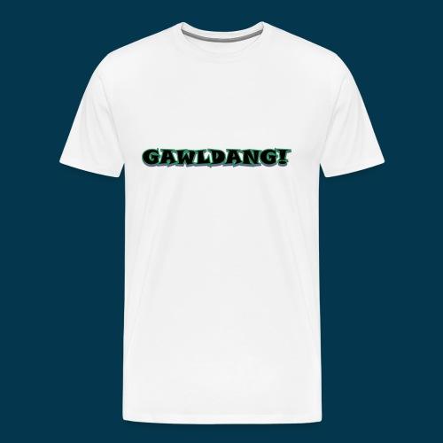 GAWLDANG (Black) - Men's Premium T-Shirt