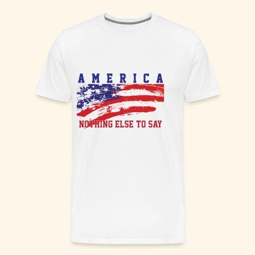 America1 - Men's Premium T-Shirt