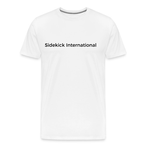 Sidekick International Logo (Black) - Men's Premium T-Shirt