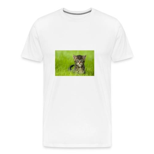 chat - T-shirt premium pour hommes