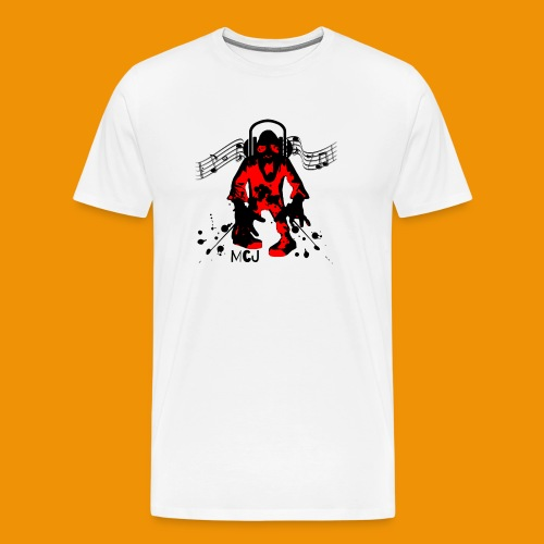 Music Zombie - Men's Premium T-Shirt