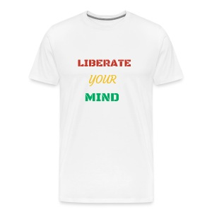 Liberate your mind clothing - Men's Premium T-Shirt