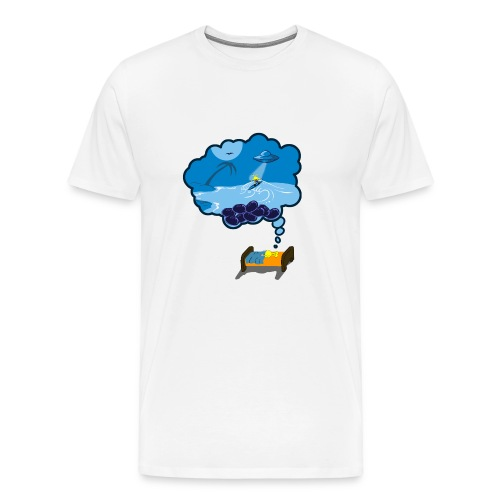 Strainge - Blue Dream Marijuana Strain shirt - Men's Premium T-Shirt