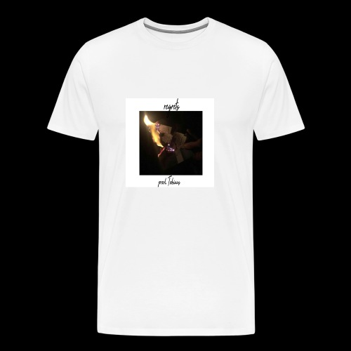 regrets. - Men's Premium T-Shirt