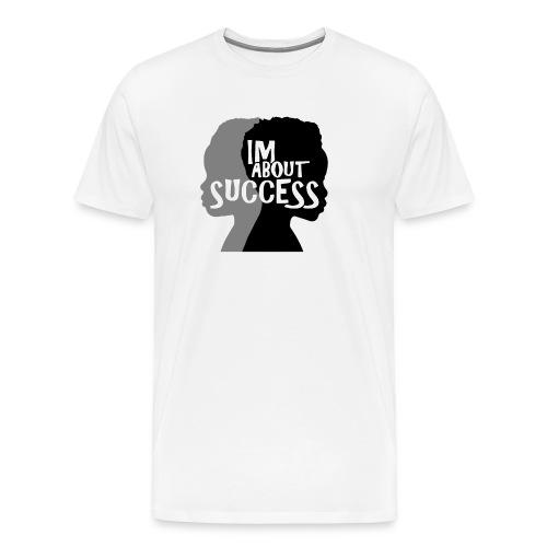IM ABOUT SUCCESS original brand logo - Men's Premium T-Shirt