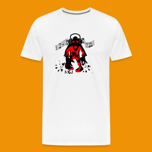 Music Zombie - Men's Premium T-Shirt