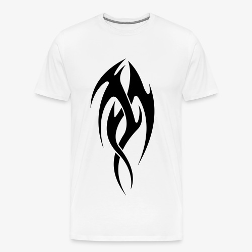 Cool tribal tattoo design - Men's Premium T-Shirt
