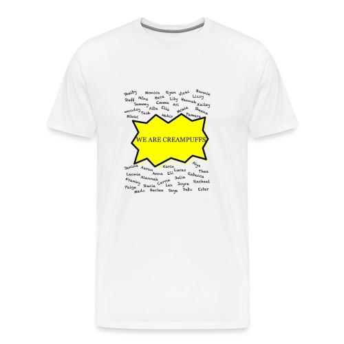 Creampuff Awareness - Men's Premium T-Shirt
