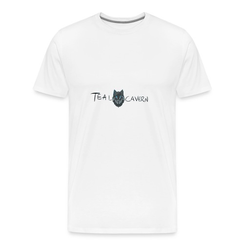 TealCavern Wolf - Men's Premium T-Shirt