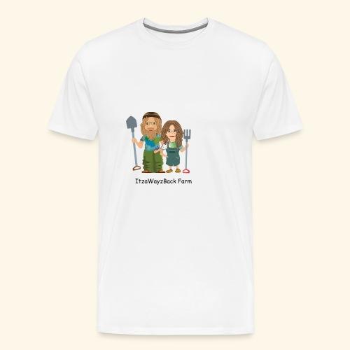 itzawayzback - Men's Premium T-Shirt