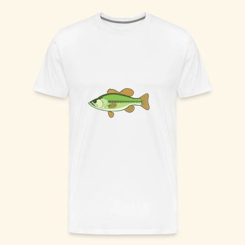 Fishking logo design - Men's Premium T-Shirt