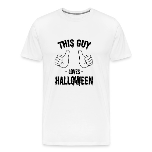 This Guy Loves to Party on Halloween - Men's Premium T-Shirt