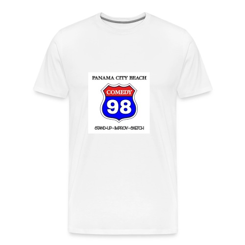 98 Comedy White Guild - Men's Premium T-Shirt