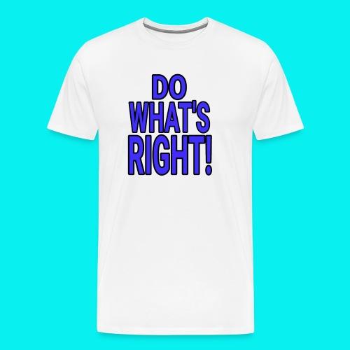 Dave The Cat Big Word Tee! DWR! - Men's Premium T-Shirt