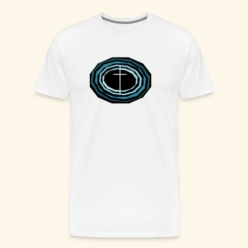 Cross Wheel - Men's Premium T-Shirt