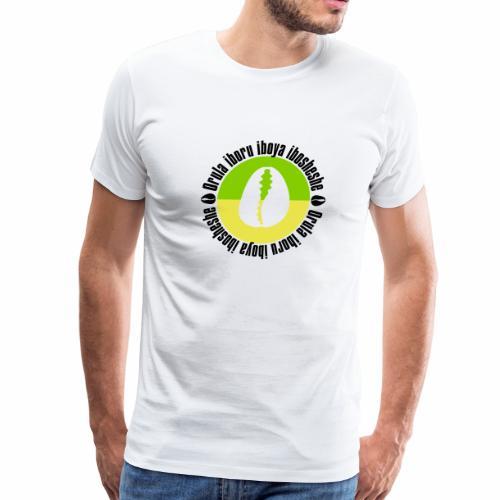 Orula name with cowrie - Men's Premium T-Shirt