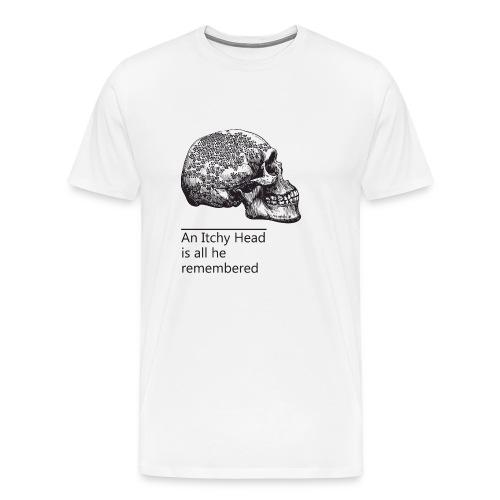 skull holes - Men's Premium T-Shirt