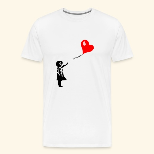Balloon Girl - Men's Premium T-Shirt