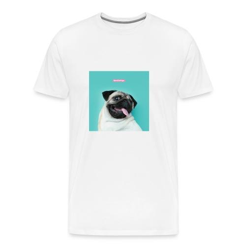 The Pug - Men's Premium T-Shirt