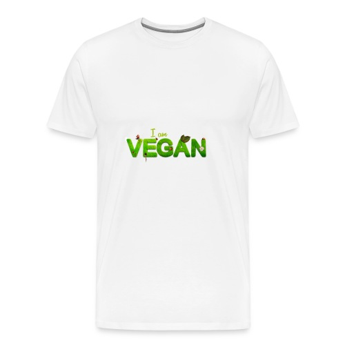 I am Vegan - Men's Premium T-Shirt