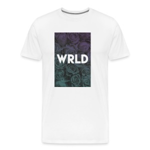 Floral Gradient - Men's Premium T-Shirt