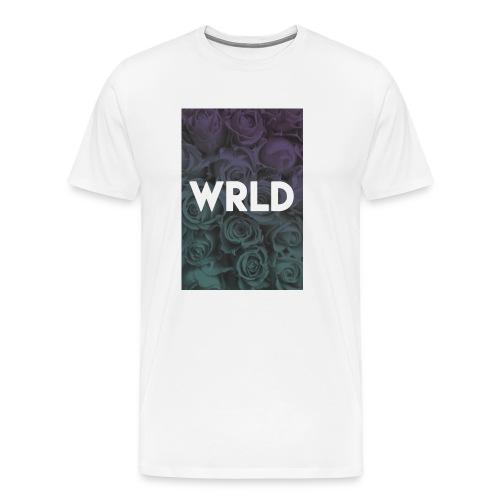 Floral Gradient - Men's Premium T-Shirt