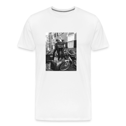 Amsterdam Sculpture - Men's Premium T-Shirt