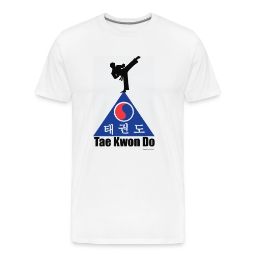 Taekwondo Pyramid - Men's Premium T-Shirt