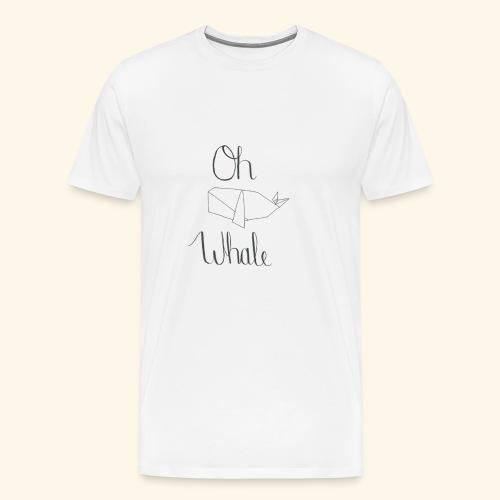 Oh whale - Men's Premium T-Shirt