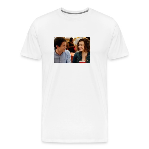 Clay Jensen and Hannah Baker - Men's Premium T-Shirt