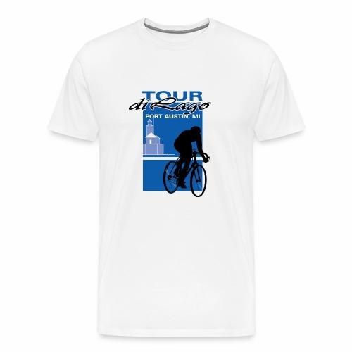 Tour di Lago - Men's Premium T-Shirt