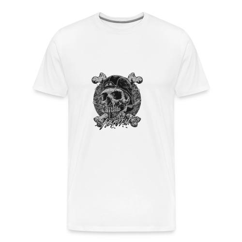 Smoke Skull - Men's Premium T-Shirt