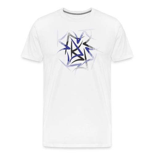 designcrowd t shirt back2 printready 300dpi - Men's Premium T-Shirt