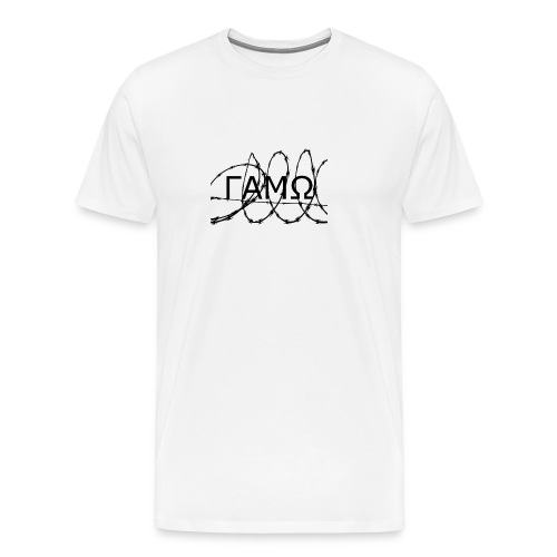 Barbed Wire box logo GAMO - Men's Premium T-Shirt